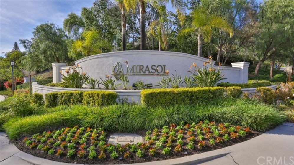Mirasol is a gated community at Pacific Hills in Mission Viejo.  (X-streets: Oso Pkwy & Felipe Rd)