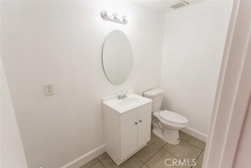 1/2 bath on 1st floor.