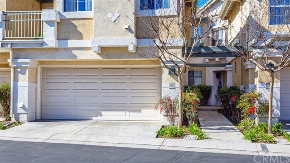 2 car attached garage with direct access.
