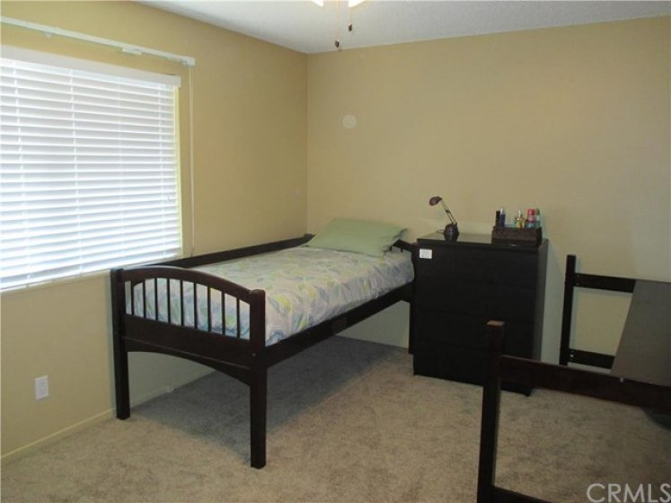 Large bedroom - upstairs with a walk in closet