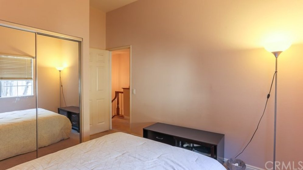 Secondary master bedroom with full bath.