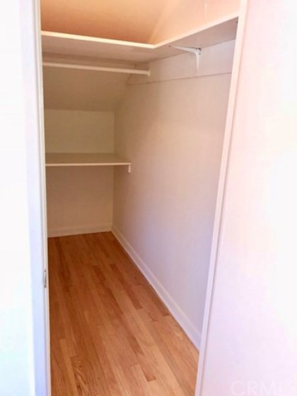 We can't let you leave without taking note of this large walk in closet, right off the front door of the condo.