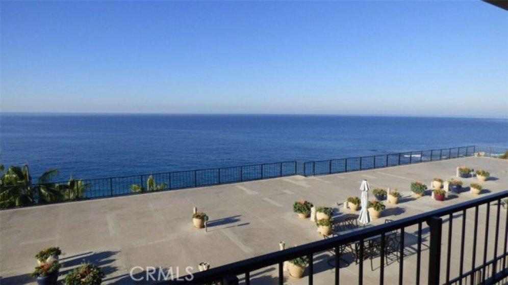 Ocean and Catalina views form private lanai