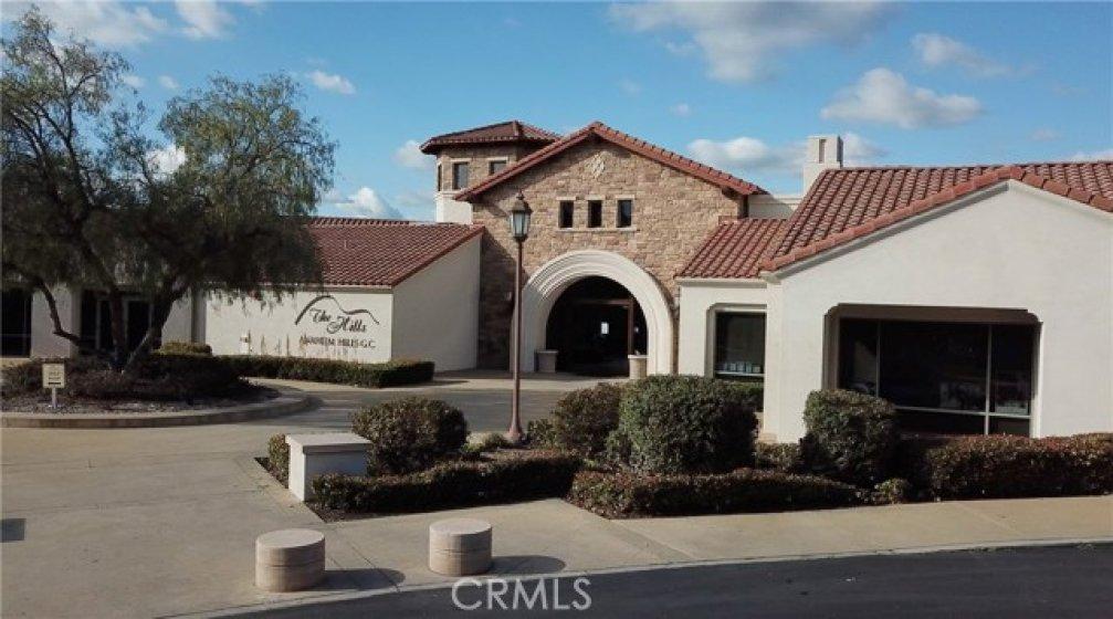 The Hills Golf Club in Anaheim Hills
