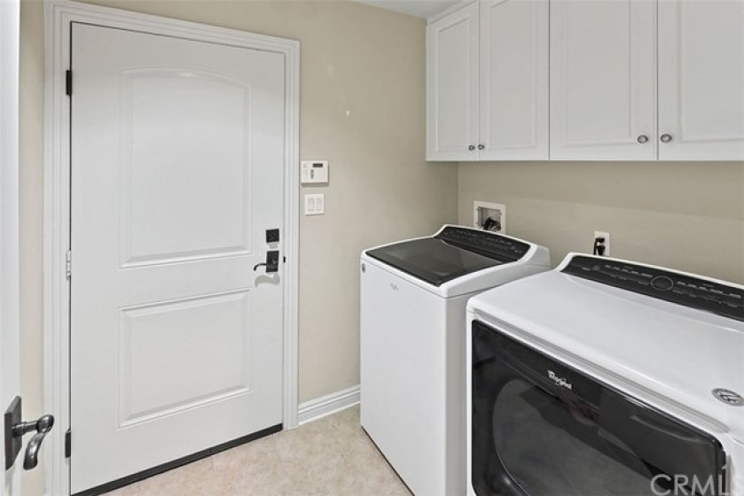 laundry room with garage access