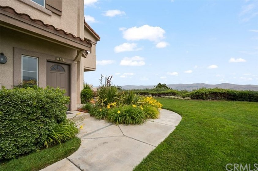 Lush grassy greenbelts and amazing views as you walk to your front door!