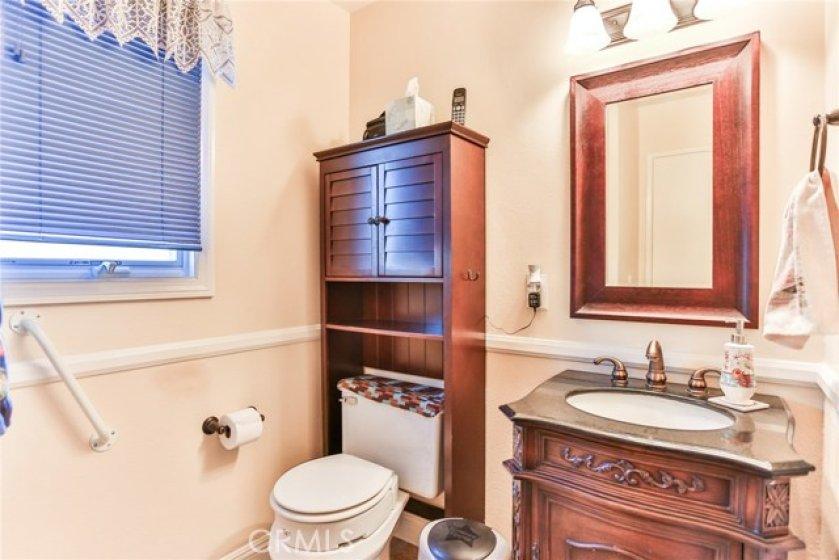 Guest Half Bath Downstairs