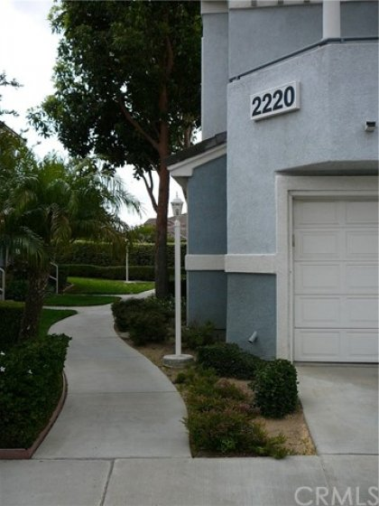 Walk around to your private front door entrance.