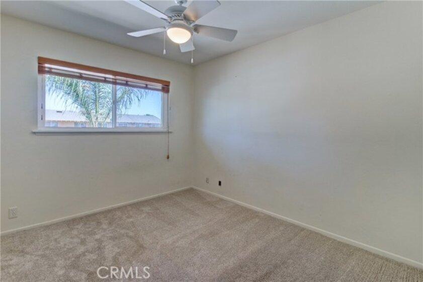 Bedroom #3 - all bedrooms have ceiling fan light fixtures
