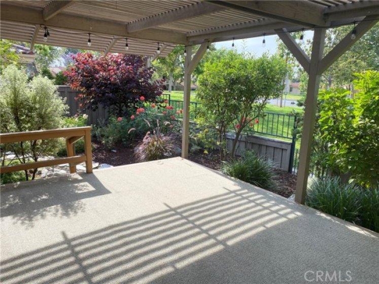 Main back patio decking