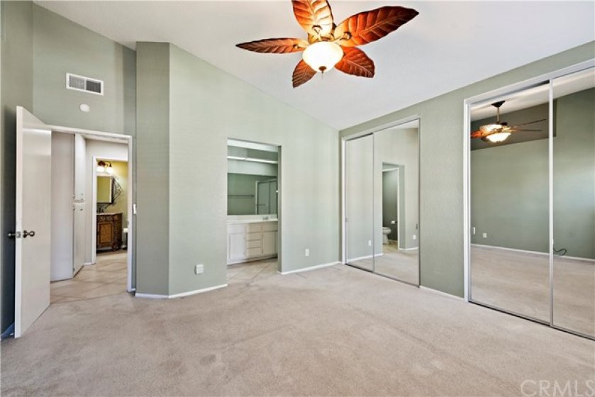 This master bedroom is so spacious!