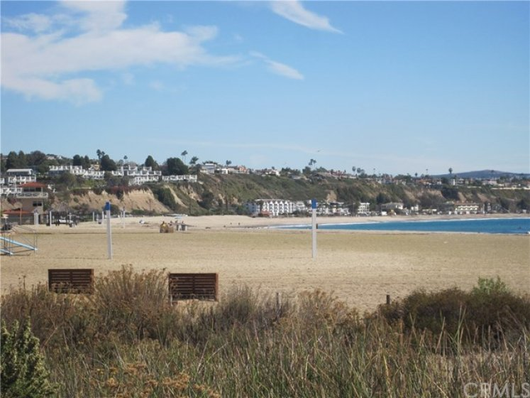 Just over a mile to beautiful beaches and Dana Point Harbor
