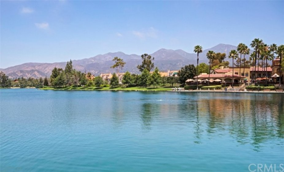 Beautiful Rancho Santa Margarita Lake