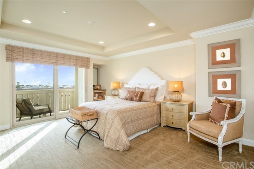 Third floor includes your private second master suite with balcony and walk-in closet.