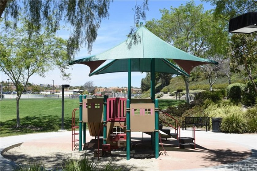 Play area is one of many amenities of the community.