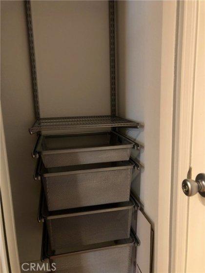 Builtins in bedroom closets