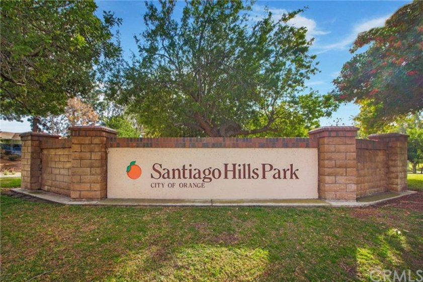 Just a few steps away is the serene Santiago Hills Park rich with walking trails, picnic tables, play area, basketball court and baseball field.