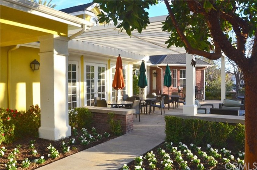 More Clubhouse gardens for relaxing and checking out the basketball courts nearby