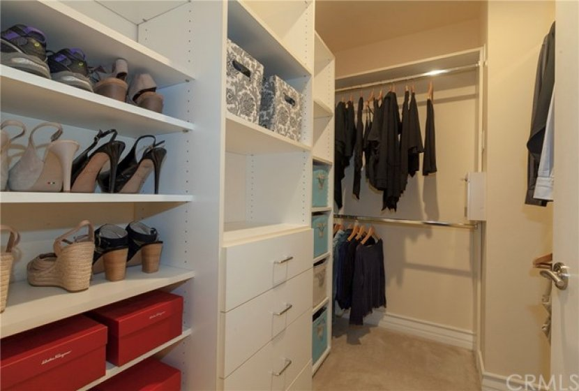 Walk-In Closet for the Master Bedroom