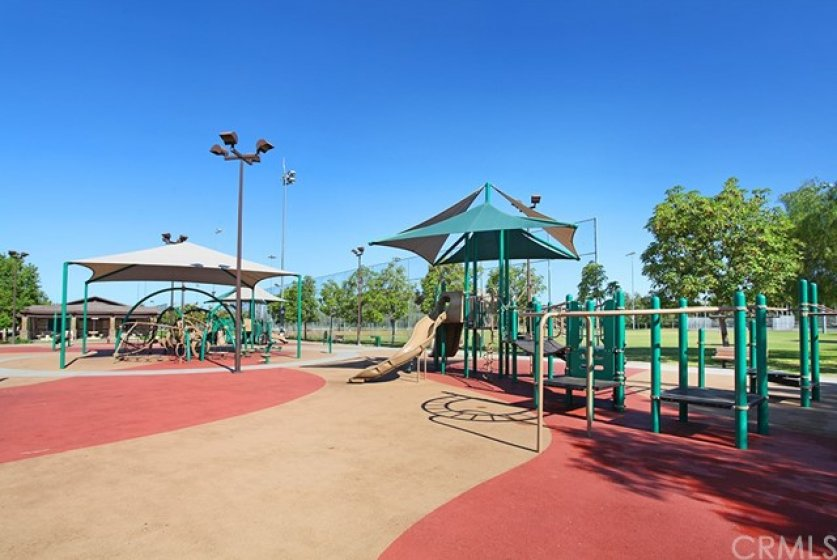 Another view of the playround and park.