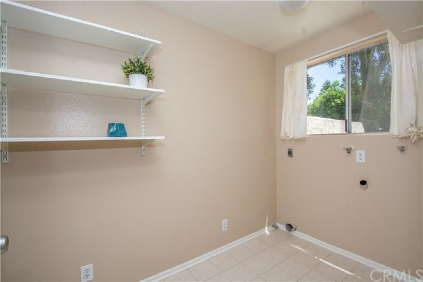 Large separate Laundry room