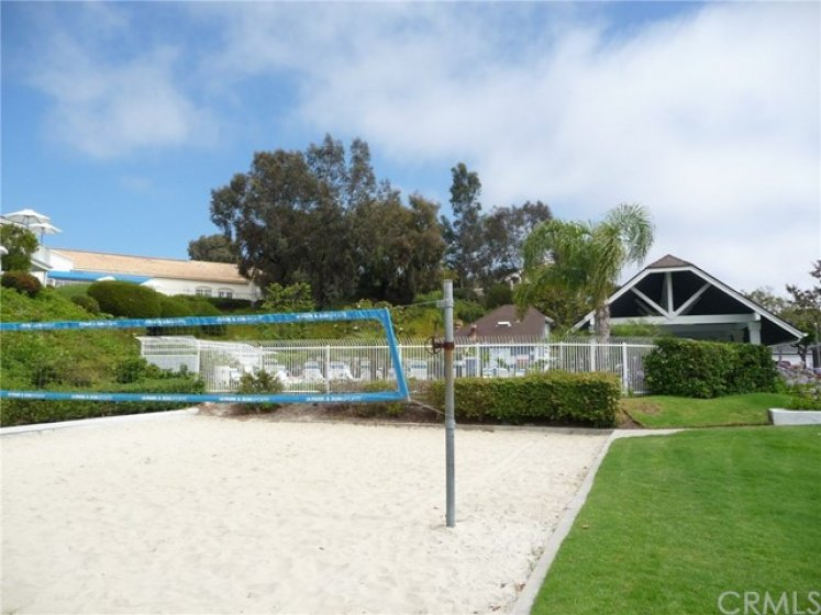 Enjoy the Community Sand Volleyball Court!!