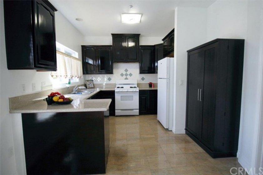 Upgraded kitchen with pantry