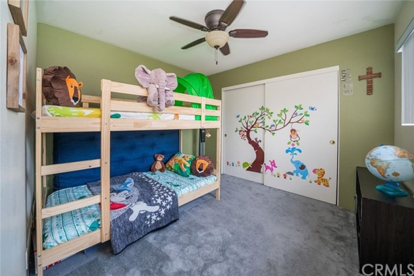 Second bedroom, ready for the little ones or to be an office.