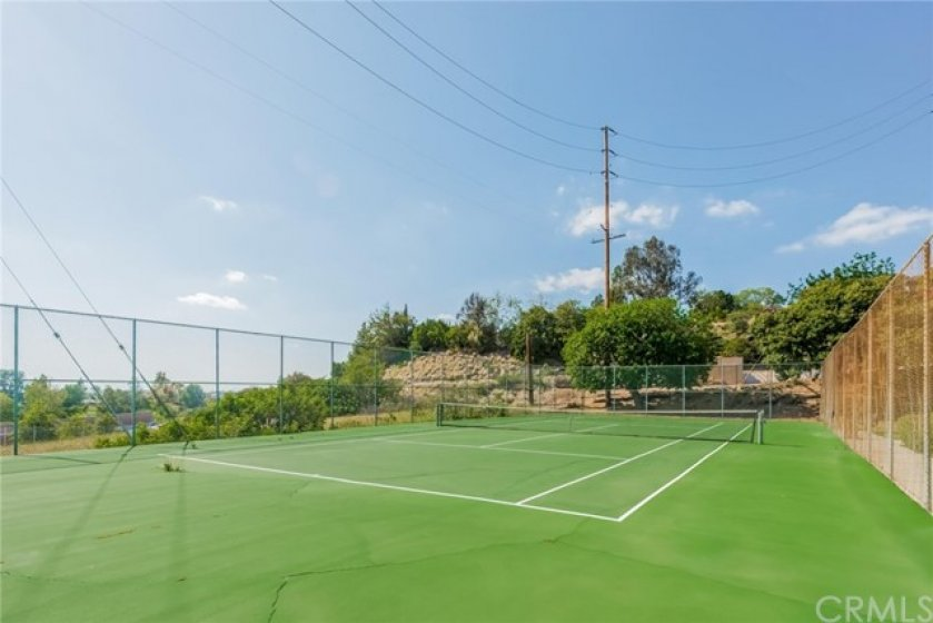2 Community Tennis Courts!
