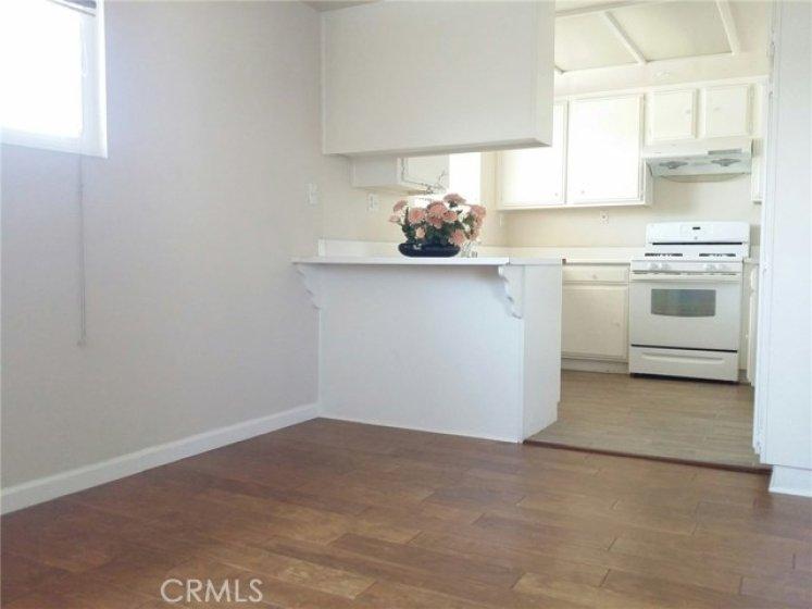Good size dinning room next to kitchen