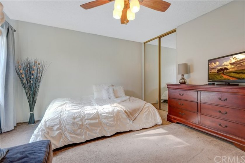 Master Bedroom is quite large, lots of furniture in there!