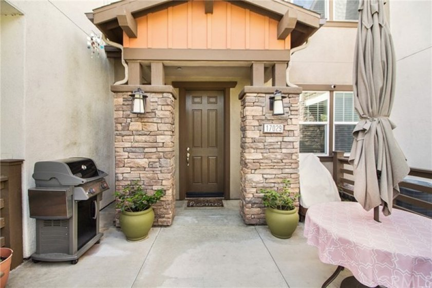One of the larger patios in the community!