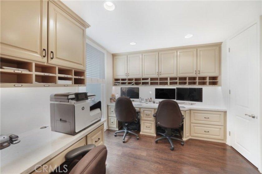 Downstairs bedroom/office