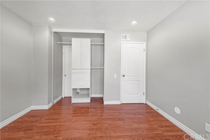 Built-in closets in both secondary bedrooms.