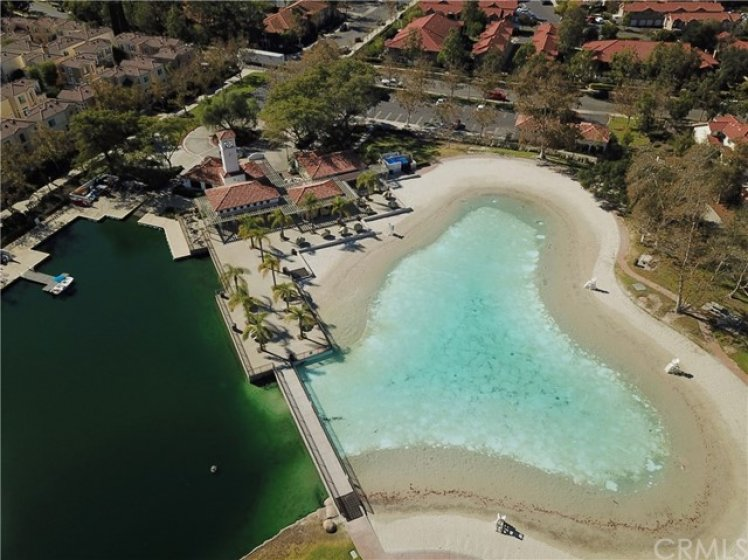 RSM Beach Club -aerial view