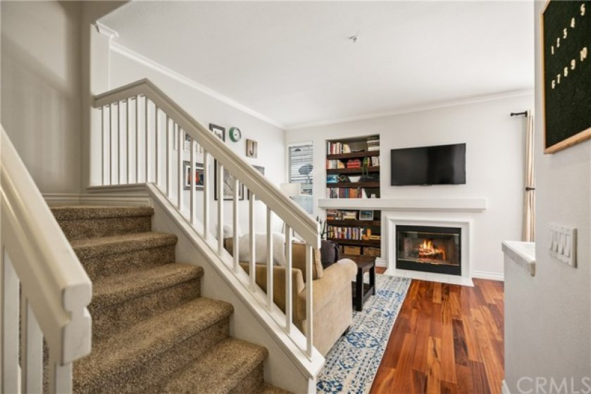 Hardwood Floors through out the donwstairs!