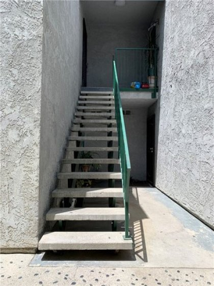 Staircase to unit# C4