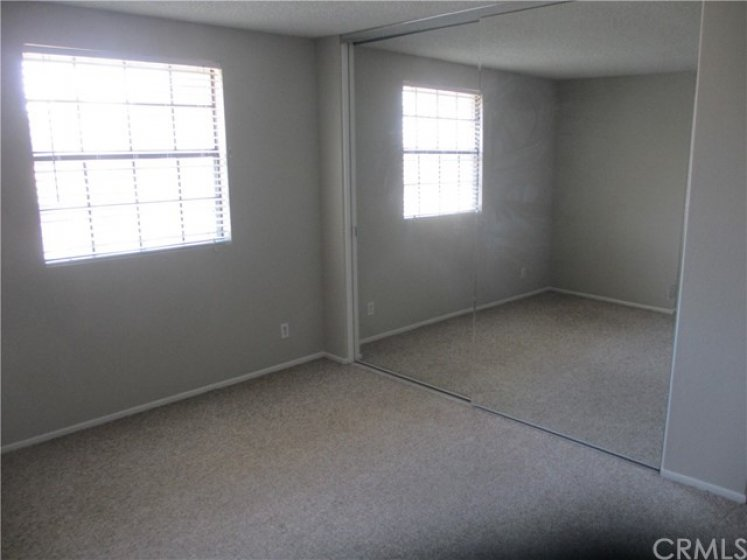 Large Upstairs bedroom with spacious Closet