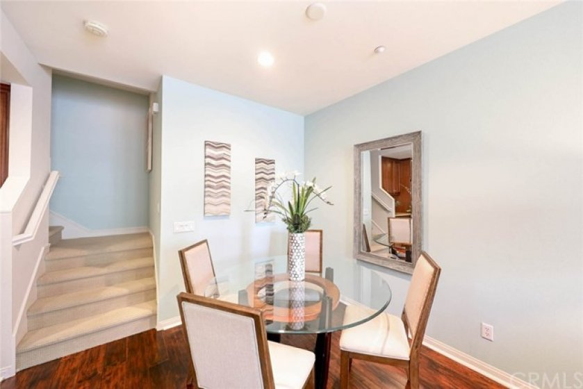 Spend time with family and friends over a delicious meal in this cozy dining area.