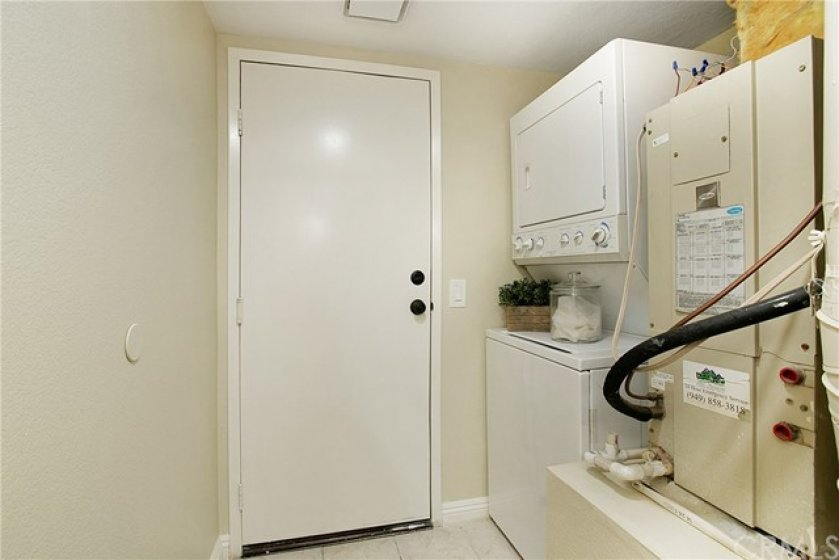Large laundry room with washer and dryer included!Direct access to garage.