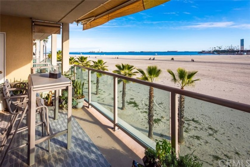 Unobstructive Panoramic Views from Your Private Balcony