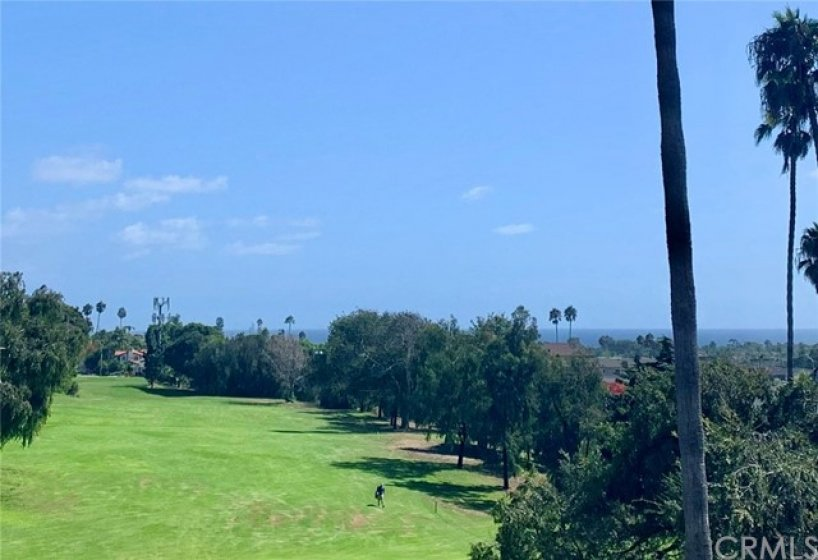 Golf course and ocean views directly from living room and both bedrooms!