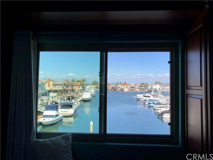 deep water ocean view from master bedroom