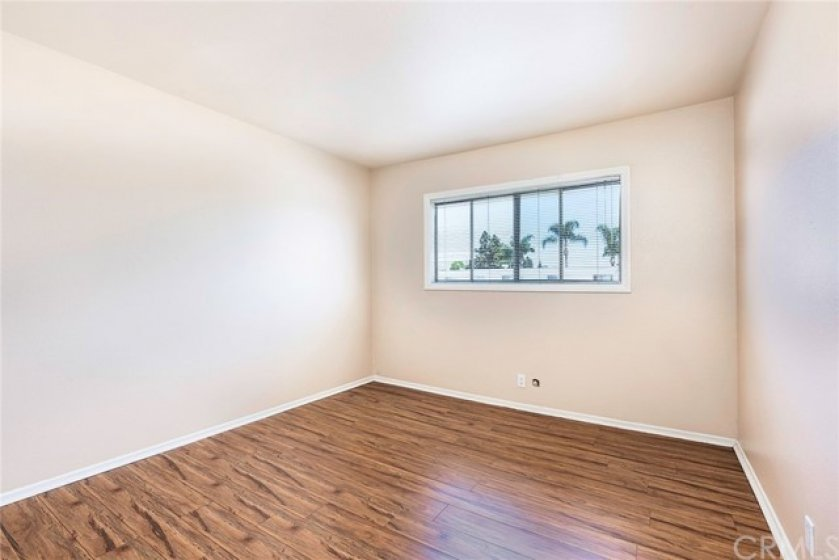 Great sized second bedroom with great closet space as well! Featuring newer floors.