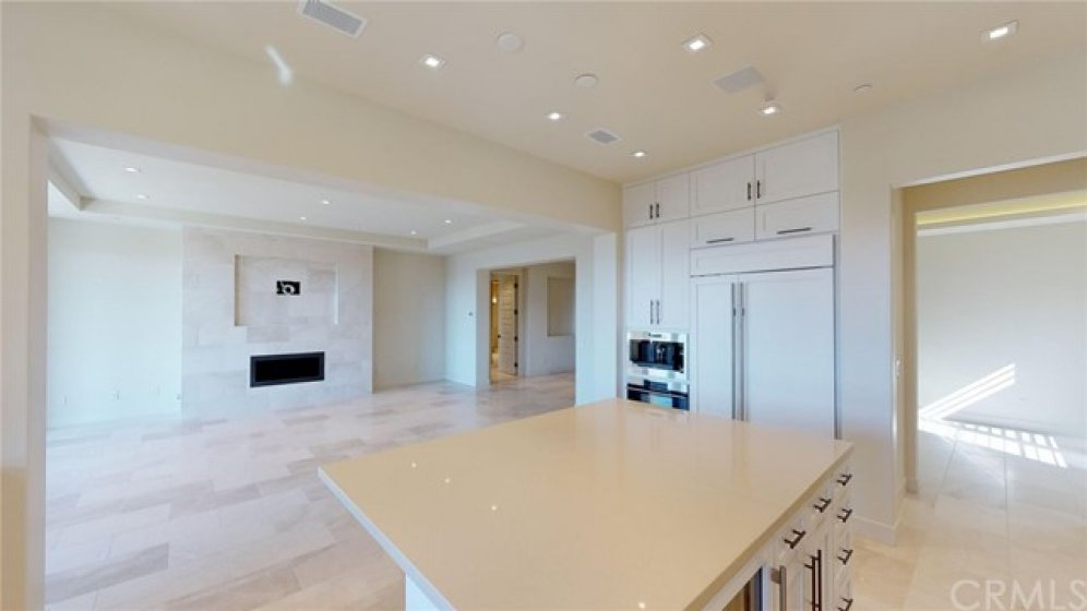 Open area on right leads to the formal dining room.