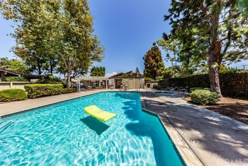 Home is located directly across the Gated pool and spa.  Perfect for the hot summer days and spa perfect for those chilly nights.