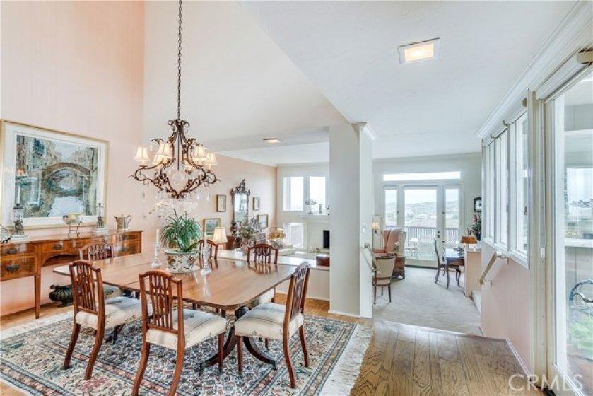 Open Floor Plan, Dining/Living Room