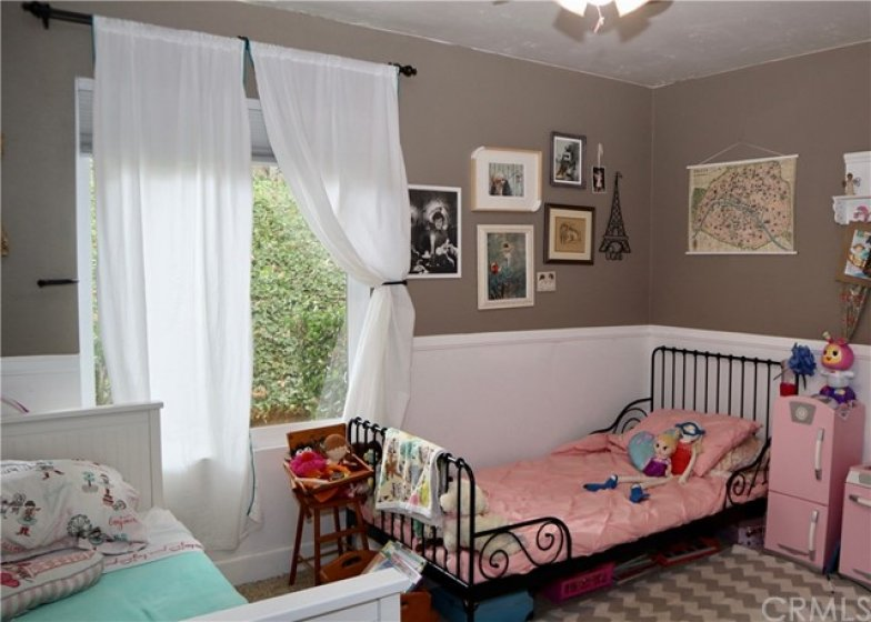 This angle gives you a better perspective of the very nice size of the second bedroom.
