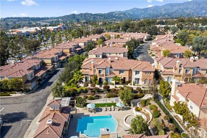 Location! Location! Location!  One of only a few homes in Terracina that offers views with no traffic in front or behind.  This complex is steps from Town Center with lots of shopping options.  Walk to Central Park and the Amphitheater along with RSM Community Center.