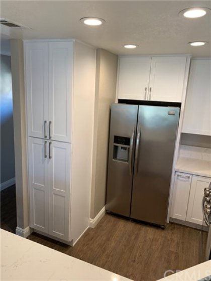 New pantry.